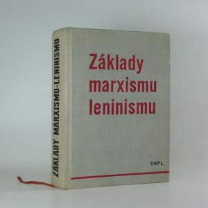 náhled knihy - Základy marxismu-leninismu. 1. [část]