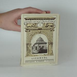 náhled knihy - Umělecké památky 6. : Litomyšl