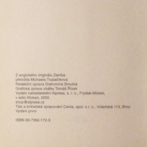 antikvární kniha Zamba - život s králem zvířat, 2005