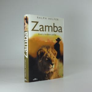 náhled knihy - Zamba - život s králem zvířat