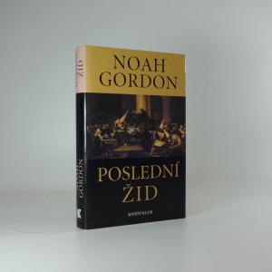 náhled knihy - Poslední žid