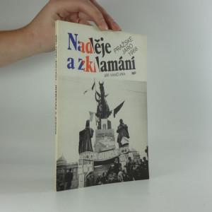 náhled knihy - Naděje a zklamání - pražské jaro 1968