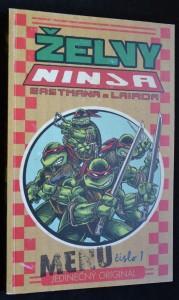 náhled knihy - Želvy ninja, č. 1