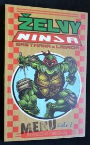 náhled knihy - Želvy ninja, č. 2