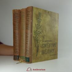 náhled knihy - Světové dějiny (pouze první 3 svazky)