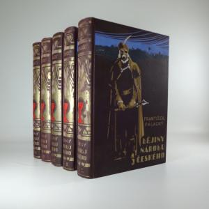 náhled knihy - Dějiny národu českého (5 svazků)
