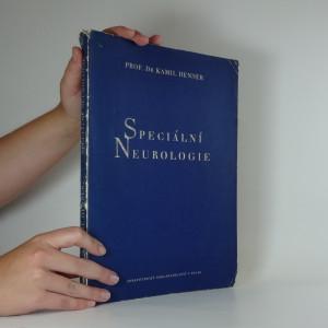 náhled knihy - Speciální neurologie