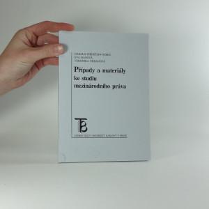 náhled knihy - Případy a materiály ke studiu mezinárodního práva