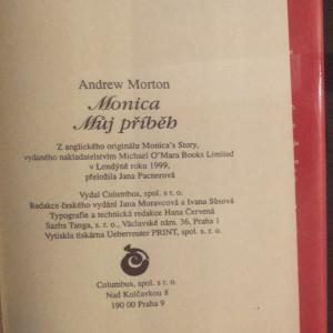 antikvární kniha Monica : můj příběh, 1999