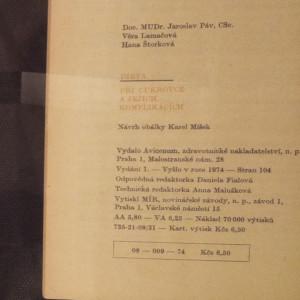 antikvární kniha Dieta při cukrovce a jejích komplikacích, Prof. MUDr. Jaroslav Páv, DrSc. , 1974