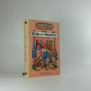 náhled knihy - Dům na předměstí