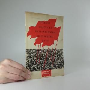 náhled knihy - Přední bojovníci mezinárodního dělnického hnutí