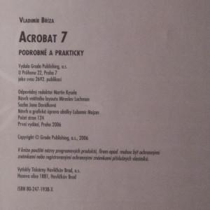 antikvární kniha Acrobat 7 - podrobně a prakticky, 2006
