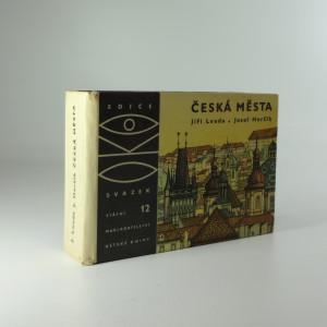 náhled knihy - Česká města