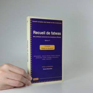 náhled knihy - Recueil de fatwas - avis jurdiques concernant les musulmans d´Europe
