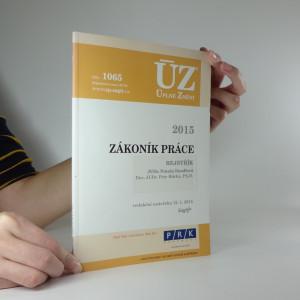 náhled knihy - ÚZ - Zákoník práce