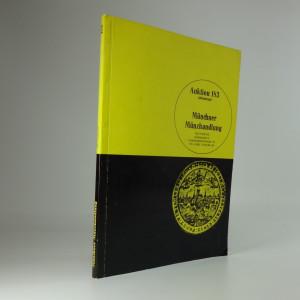 náhled knihy -  Münchner Münzhandlung, Auktion 183