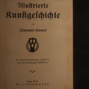 antikvární kniha Illustrierte Kunstgeschichte, neuveden