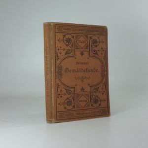náhled knihy - Gemäldekunde