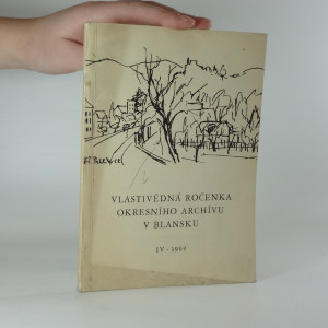 náhled knihy - Vlastivědná ročenka okresního archivu v Blansku