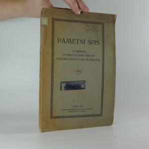 náhled knihy - Pamětní spis k jubileu čtyřicetiletého trvání národní jednoty pro jz. Moravu