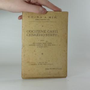 náhled knihy - Odcizené části českého státu