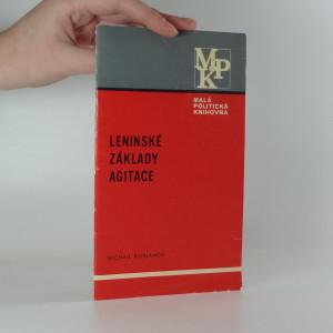 náhled knihy - Leninské základy agitace