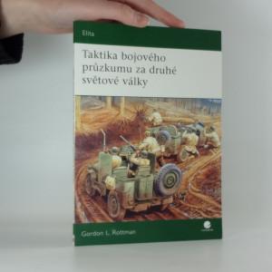 náhled knihy - Taktika bojového průzkumu za druhé světové války
