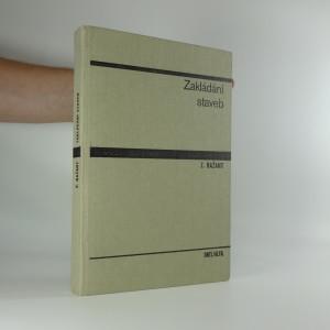 náhled knihy - Zakládání staveb