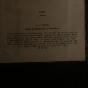 antikvární kniha Cesta do Kašgarska a Kuen-lunu, 1951