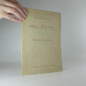 náhled knihy - Národní umělec Ladislav Zelenka a České kvarteto