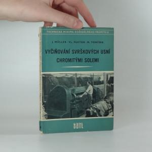 náhled knihy - Vyčiňování svrškových usní chromitými solemi