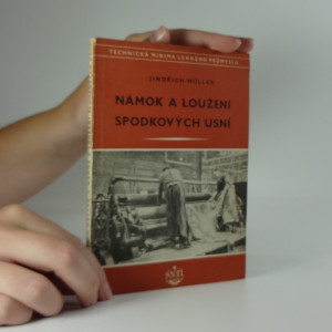 náhled knihy - Námok a loužení spodkových usní