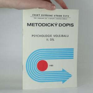 náhled knihy - Metodický dopis psychologie volejbalu II.díl