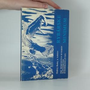 náhled knihy - Rybárske minimum pre športových rybárov Slovenského rybárskeho zväzu