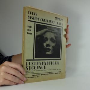náhled knihy - Úplný systém okkultních nauk. Kniha VII. Posthypnotická suggesce.