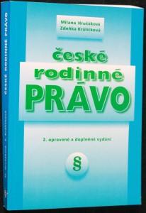 náhled knihy - České rodinné právo