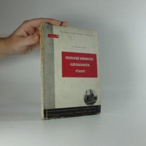 náhled knihy - Technické normování slévárenských výkonů