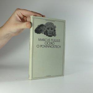 náhled knihy - O povinnostech : rozprava o třech knihách věnovaná synu Markovi