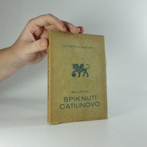 náhled knihy - Spiknutí Catilinovo