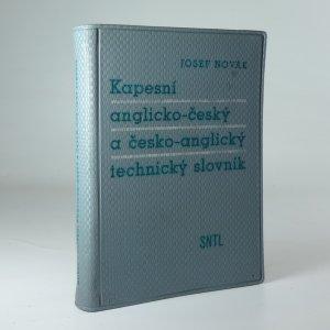 náhled knihy - Kapesní anglicko-český a česko-anglický technický slovník - Určeno techn. překladatelům, pracovníkům zahr. obch. a technikům odjíždějícím na montáže do ciziny