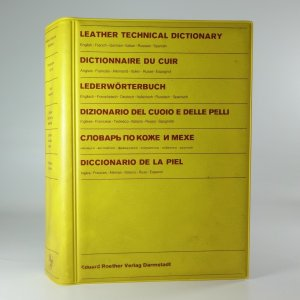 náhled knihy - Leather Technical Dictionary