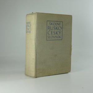 náhled knihy - Školní česko - ruský slovník