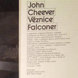 antikvární kniha Věznice Falconer, 1990