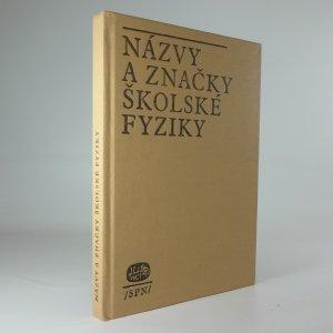 náhled knihy - Názvy a značky školské fyziky