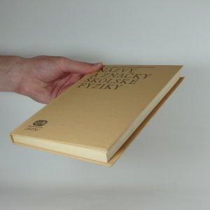 antikvární kniha Názvy a značky školské fyziky, 1977