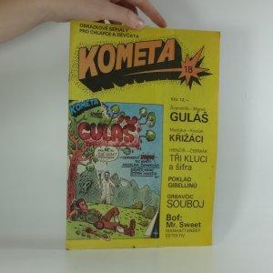 náhled knihy - Kometa, obrázkové seriály pro chlapce a děvčata č. 18