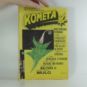 náhled knihy - Kometa, obrázkové seriály pro chlapce a děvčata č. 17