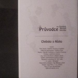 antikvární kniha Chebsko a Ašsko. Průvodce po Čechách, Moravě a Slezsku, svazek 13., 1999