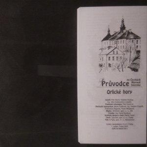 antikvární kniha Orlické hory, 2003